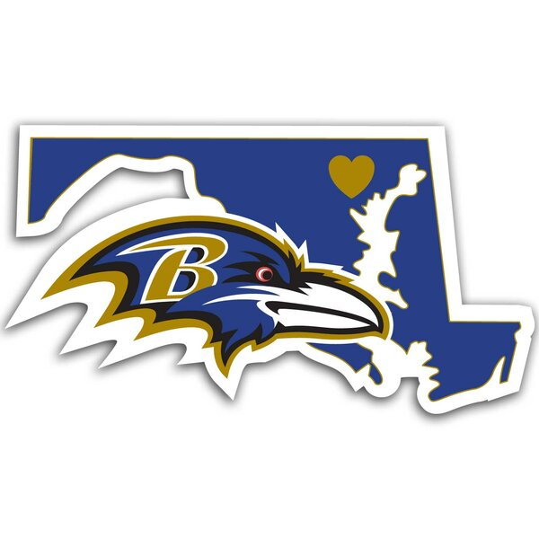 NFL Home State Decal by Team Pro-Mark