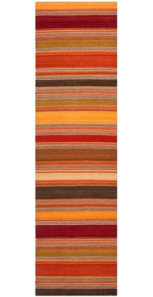 Cohen Hand-Woven Gold Area Rug by Winston Porter