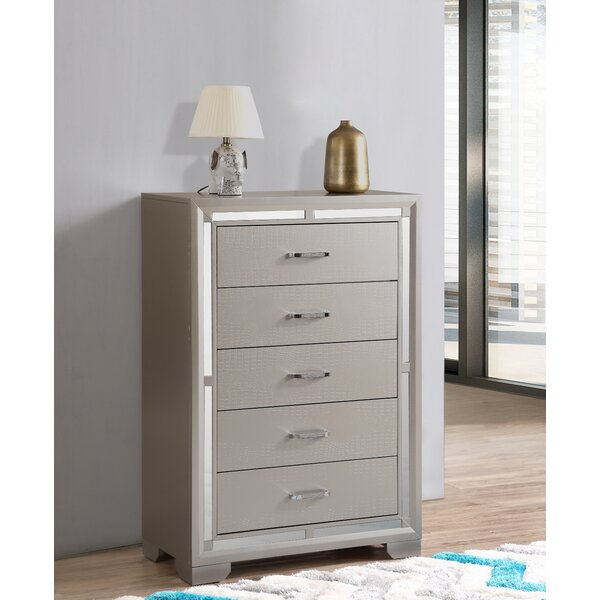 Mohn 5 Drawer Chest by House of Hampton