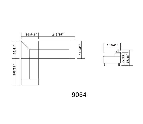 Oshkosh Reclining Sectional by Hokku Designs