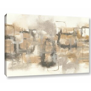 Platinum Neutrals II Painting Print on Wrapped Canvas by Latitude Run