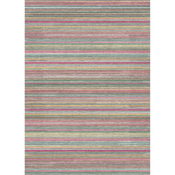 2 Piece Flatweave Blue/Pink/Yellow Indoor/Outdoor Area Rug Set by Ruggable