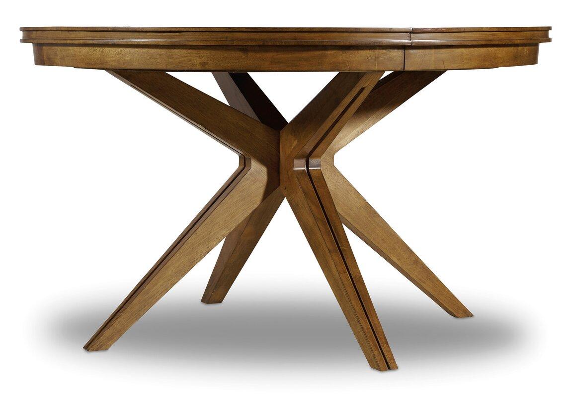 hooker furniture retropolitan extendable dining table reviews default name