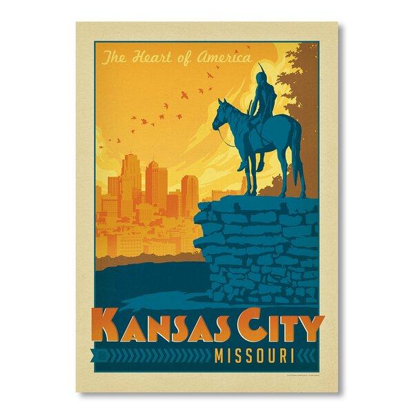 Kansas City Vintage Advertisement by East Urban Home