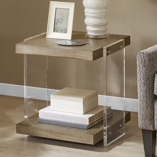 Crume End Table by Orren Ellis