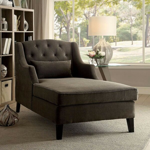 Epperly Wooden Chaise Lounge by Darby Home Co