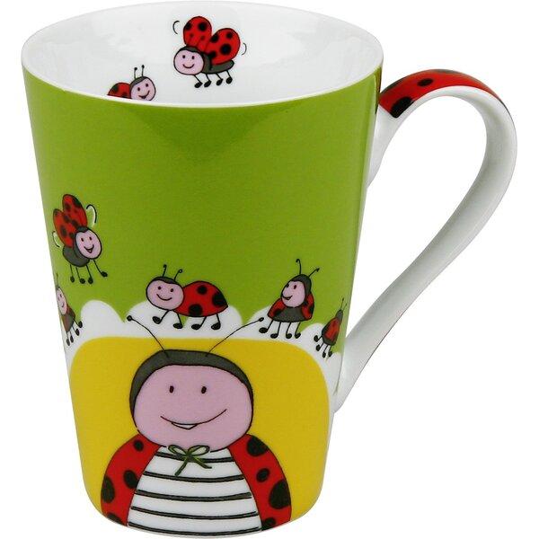 Animals Globetrotter Ladybug Mug (Set of 4) by Konitz