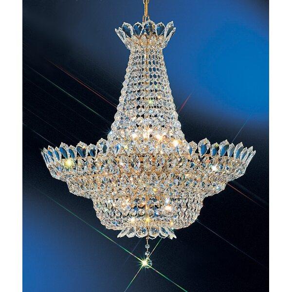 Tiara 16-Light Unique / Statement Empire Chandelier By Classic Lighting