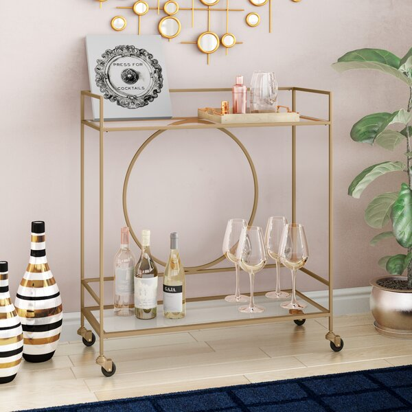 Riverton Bar Cart By Mercer41 Discount