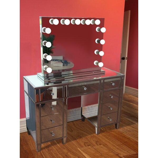 Rockland Vanity Set with Mirror by Rosdorf Park
