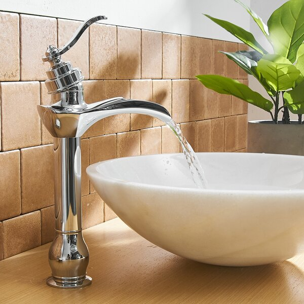 Vessel Sink Bathroom Faucet with Drain Assembly by VIBRANTBATH VIBRANTBATH