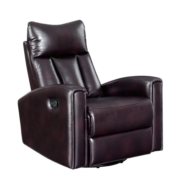 Kumar Manual Swivel Recliner by Latitude Run