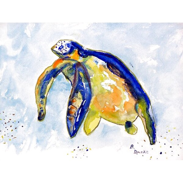 Tran Sea Turtle Placemat (Set of 4) by Bay Isle Home