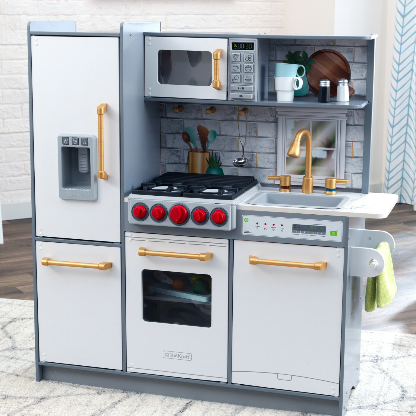 Uptown Elite Play Kitchen Set