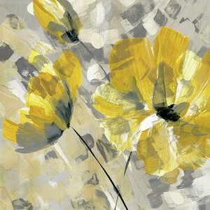 'Buttercup II' Painting Print by Andover Mills