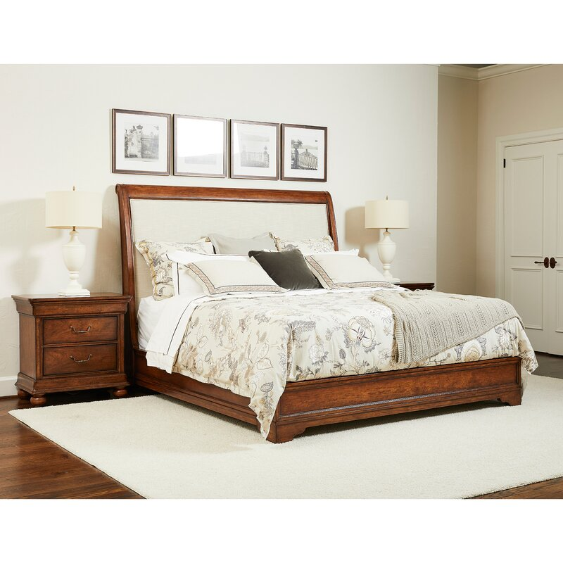 Stanley Furniture Louis Philippe Sleigh Configurable Bedroom Set