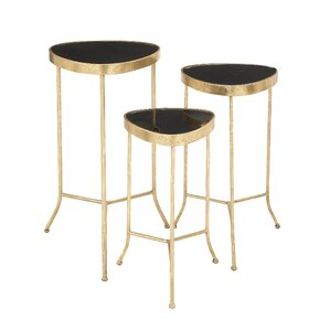 3 Piece End Table Set by Cole & Grey