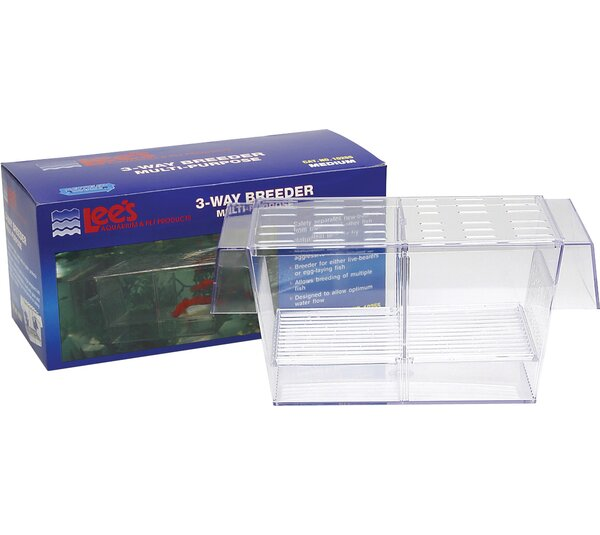 3-Way Breeder Aquarium Tank by Lees Aquarium & Pet