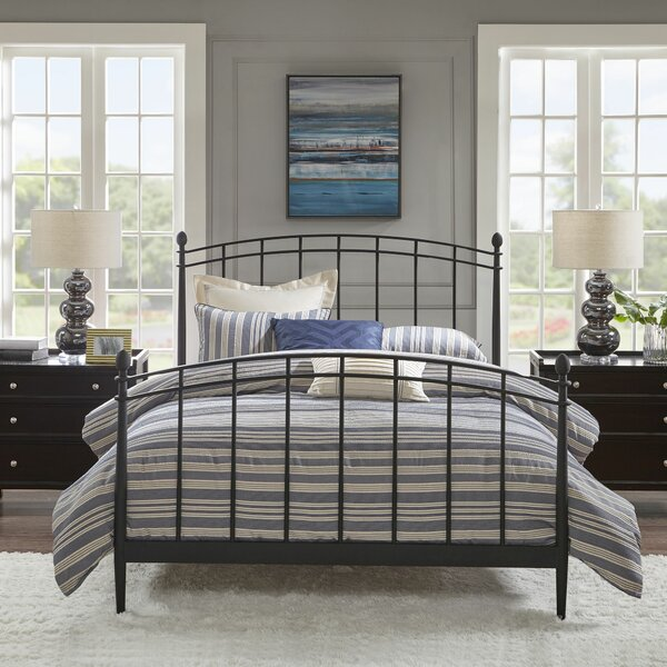 Alston Queen Standard Bed by Madison Park Signature
