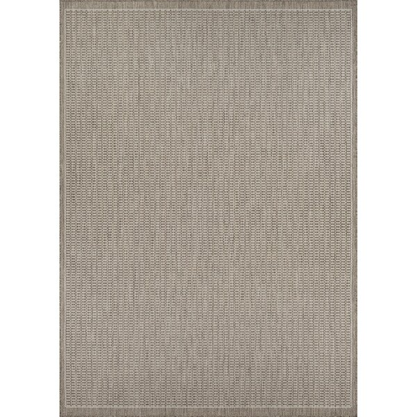 Westlund Champagne/Taupe Indoor/Outdoor Area Rug by Charlton Home