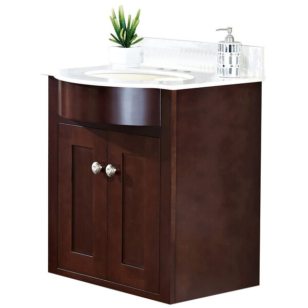 Kester 24 Wood Single Bathroom Vanity Set by Darby Home Co