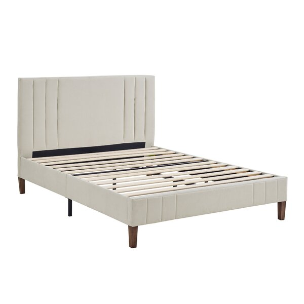 Moniz Upholstered Platform Bed By Wrought Studio by Wrought Studio Reviews