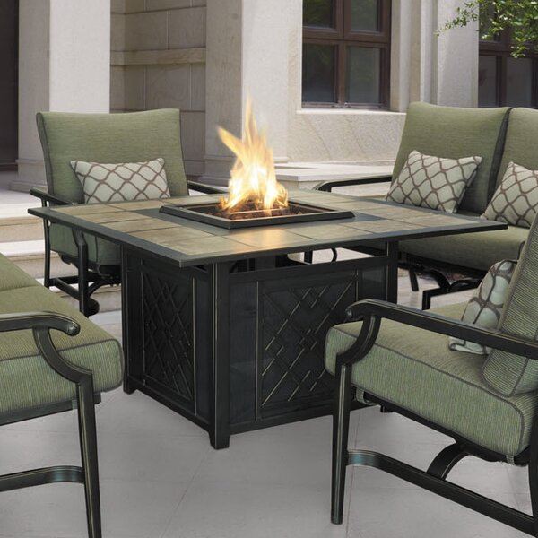 Carson Aluminum Propane Fire Pit Table by Wildon Home ®