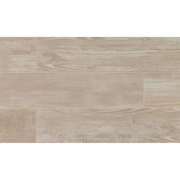 Hamptons 8 x 36 Porcelain Wood Tile in Gray Oak by Grayson Martin
