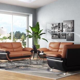 Finkbeiner 3 Piece Living Room Set by Orren Ellis