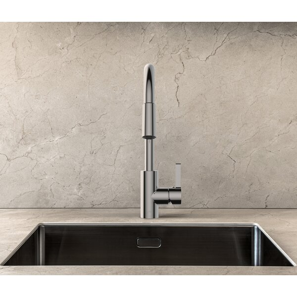 Pull-Down Single Handle Kitchen Faucet with Swivel Spout by Keeney Manufacturing Company