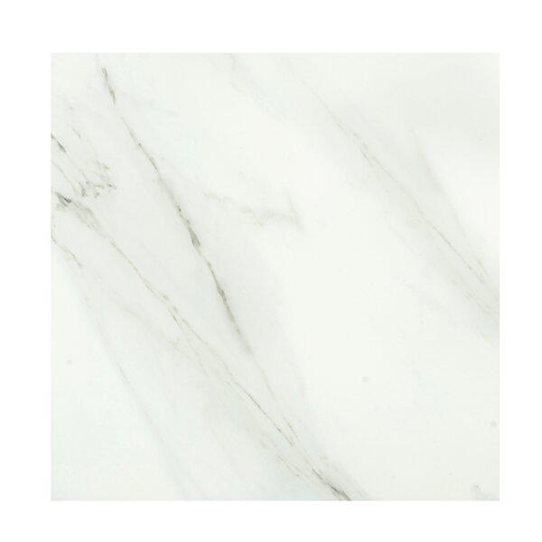 Calacata Classico 24 x 24 Porcelain Field Tile in Bone White by Casa Classica