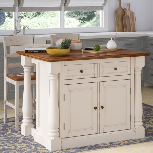 Best #1 Giulia Kitchen Island Set By Laurel Foundry Modern Farmhouse Best Design