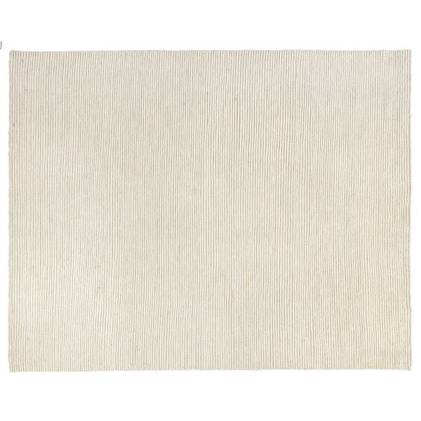 Bossa Hand knotted Wool White/Ivory Rug
