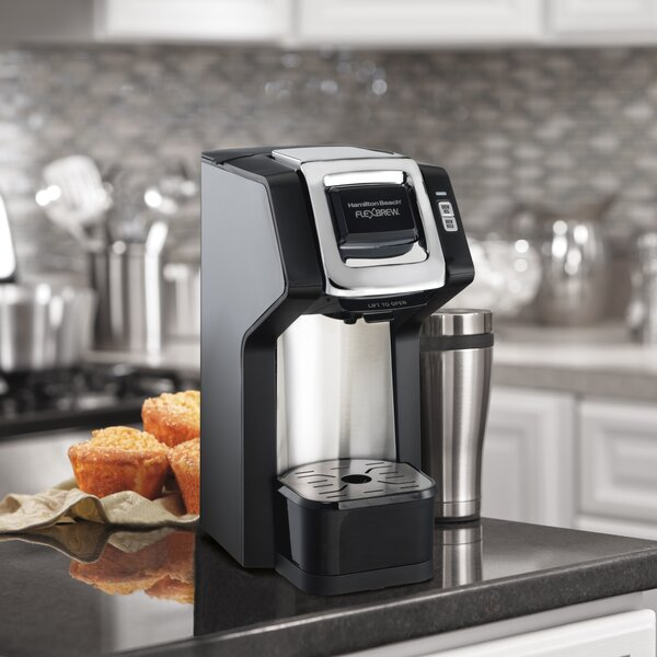 1-Cup FlexBrew® Single-Serve Plus Coffee Maker by Hamilton Beach