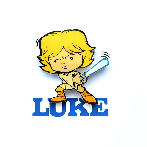 3D Luke Mini Deco 2-Light Night Light by 3D Light FX
