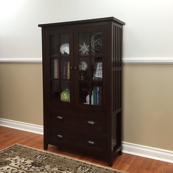 Fella 2-Drawer China Cabinet by Red Barrel Studio