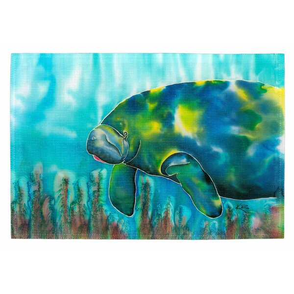 Mo the Manatee Placemat (Set of 2) by Live Free
