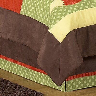 Forest Friends Queen Bed Skirt by Sweet Jojo Designs