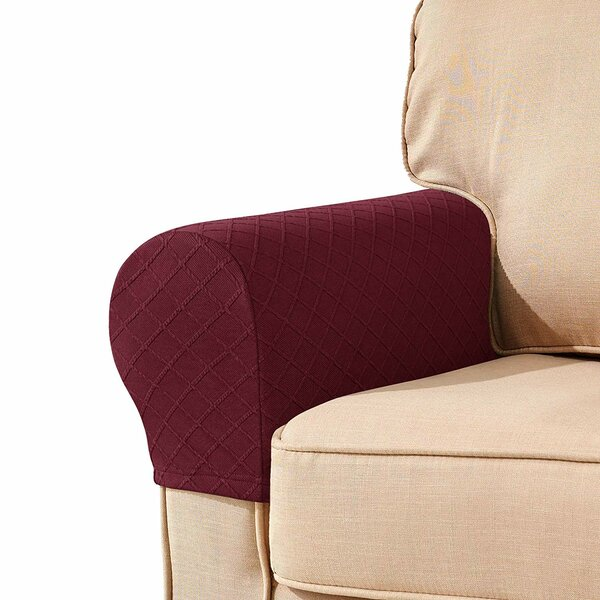 Box Cushion Sofa Slipcover (Set Of 2) By Winston Porter