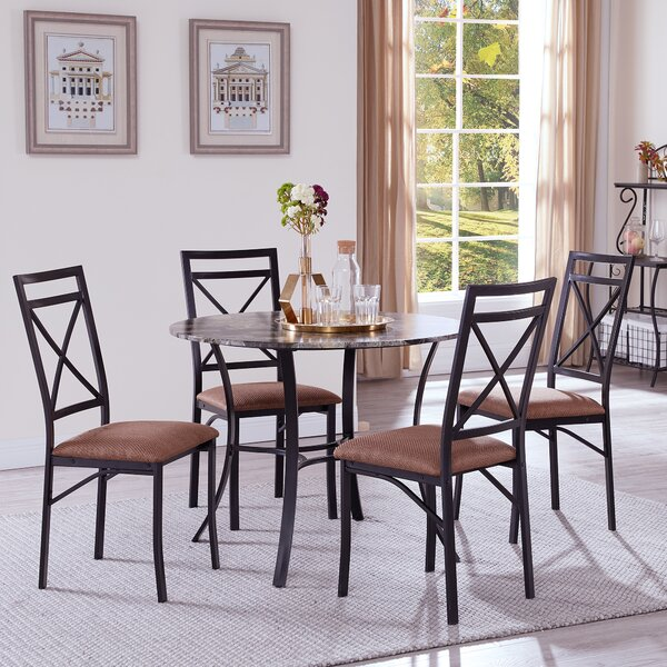 Reidsville 5 Piece Dining Set by Fleur De Lis Living