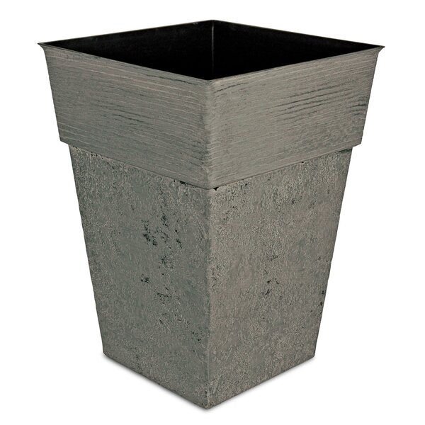 Avino Square Resin Pot Planter by Listo