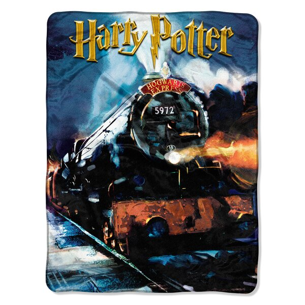 Harry Potter To Hogwarts Throw by Northwest Co.