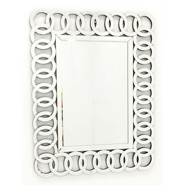 The Union Rectangle Decorative Wall Mirror by Fab Glass and Mirror