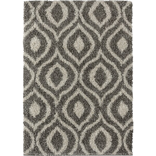 Langner Gray/Brown Area Rug by Wrought Studio