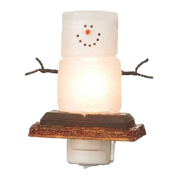 Smores Snowmen Night Light by The Holiday Aisle