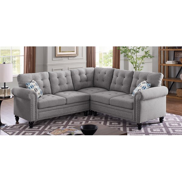 Chicopee Modular Sectional by Charlton Home