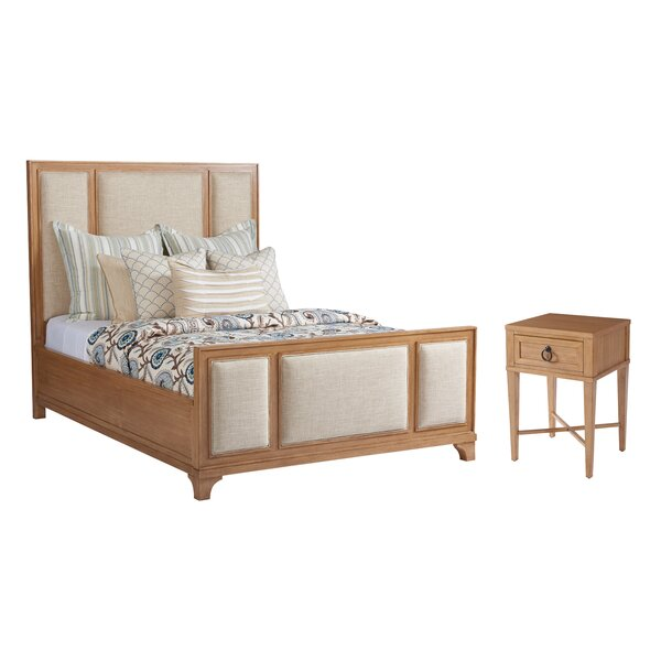 Newport Upholstered Standard Configurable Bedroom Set by Barclay Butera