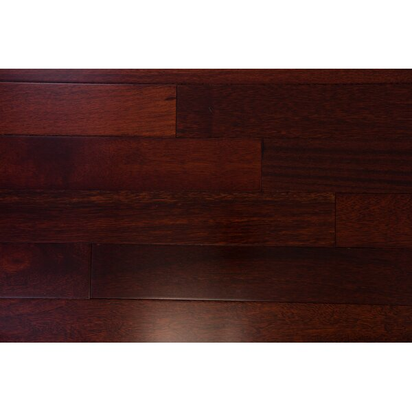 Budapest 3-5/8 Engineered Kempas Hardwood Flooring in Scarlet by Branton Flooring Collection