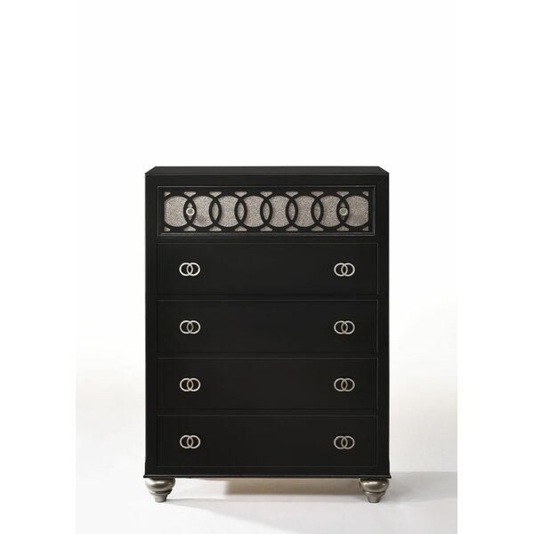 Nims 5 Drawer Chest by House of Hampton