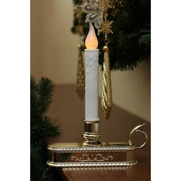 Christmas Window Candle Lamp by Three Posts